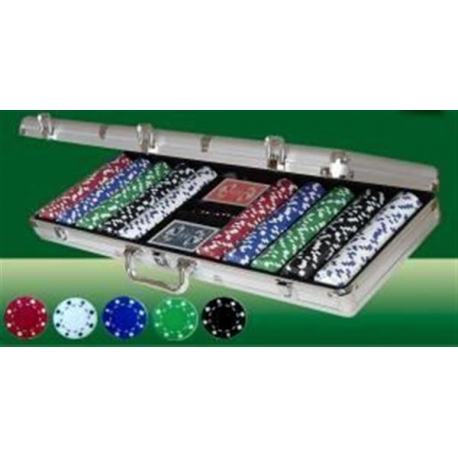 Pokerio rinkinys 500 x 11.5 g