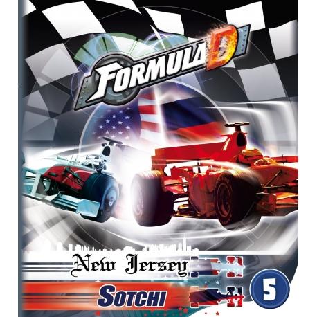Formula D papildymas: New Jersey & Sotchi