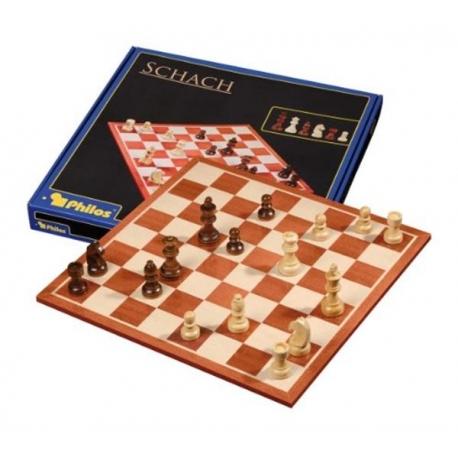 Šachmatai 45mm, raudonmedžio