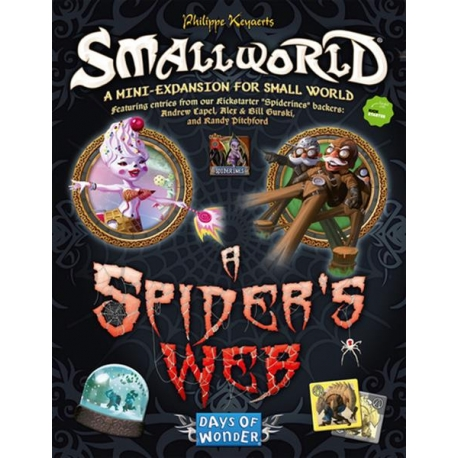 Small World papildymas: A Spider's Web