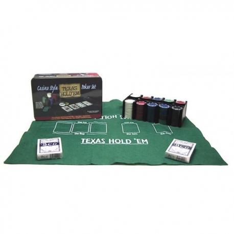 Pokerio rinkinys 200 x 4 g