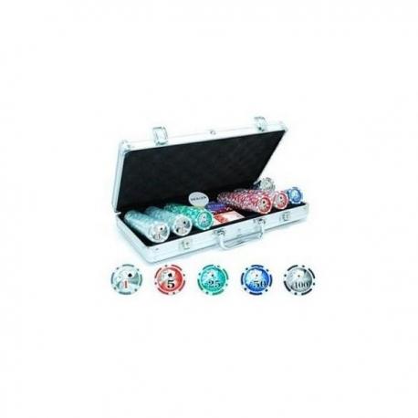 Pokerio rinkinys 300 x 11.5 g (su nominalais)