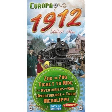 Ticket to Ride Europe papildymas: 1912